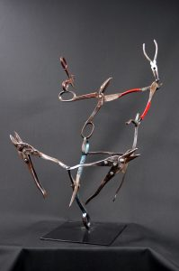 Cape Cod Steel Sculpture Image