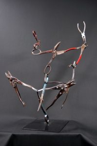 Cape Cod Steel Sculpture Image - Dance