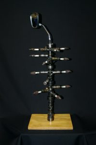 Cape Cod Steel Sculpture Image - First One